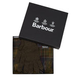 Barbour Scarf and Gloves Gift Box - Classic Tartan