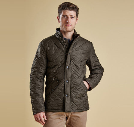 Barbour Powell Quilted Jacket Olive Krizia Martin