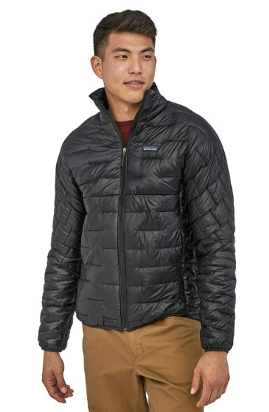 new york official images classic styles Patagonia Men's Micro Puff® Jacket - Black | Krizia Martin