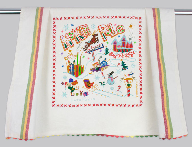 Catstudio North Pole 1 Dishtowel