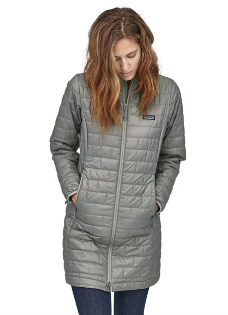Patagonia Women's Nano Puff® Parka - Feather Grey
