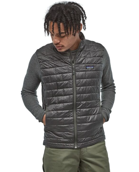 Patagonia Men's Nano Puff® Vest - Forge Grey