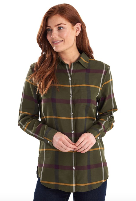 Barbour Oxer Check Shirt - Olive