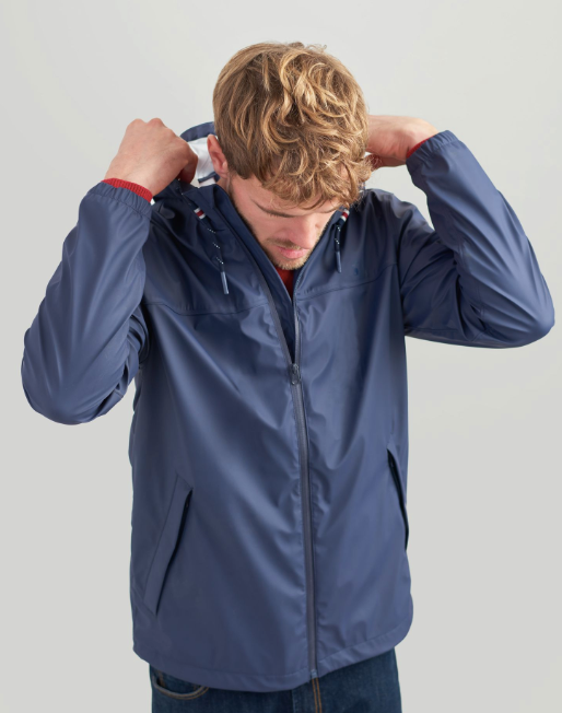 Joules Men's Portwell Lightweight Waterproof Jacket