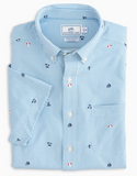 Southern Tide Resort Intercoastal Short Sleeve Sport Shirt