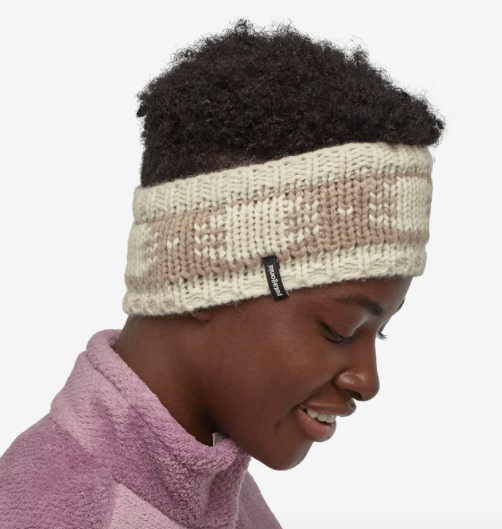 Patagonia Sapka Headband - Siphon Band: Birch White