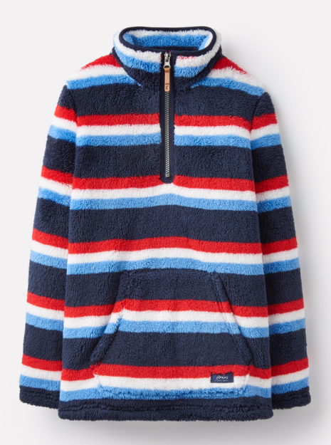 Joules Woozle Fleece - Navy Stripe