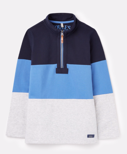 Joules Dale Sweatshirt - Blue Multi