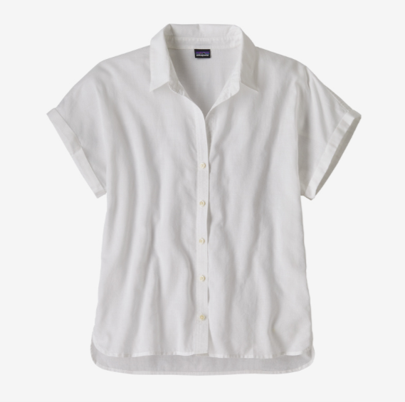 Patagonia Women's Lightweight A/C® Shirt - White