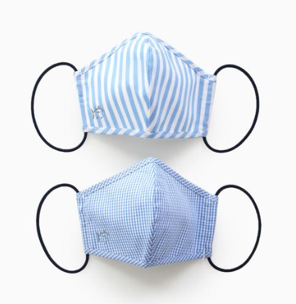 Southern Tide 2-Pack Kids Face Masks - Blue