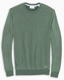 Southern Tide Bailer Crew Neck Pullover Sweater - Deep Forest