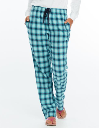 Southern Tide Plaid Lounge Pant - Patina