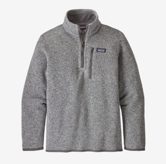 Patagonia Boys' Better Sweater® 1/4-Zip Fleece - Stonewash
