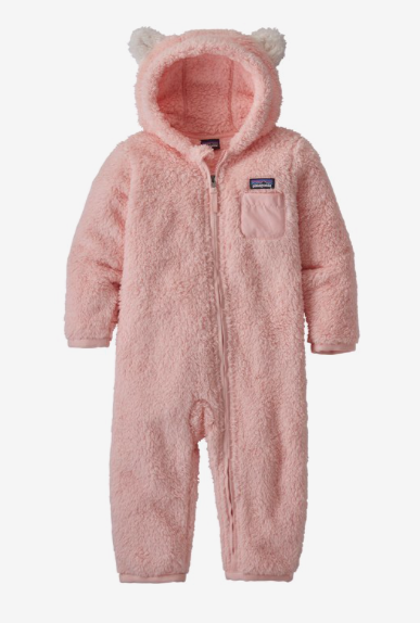 Patagonia Baby Furry Friends Bunting - Seafan Pink
