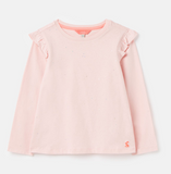 Joules Newberry Flutter Top - Pink Foil