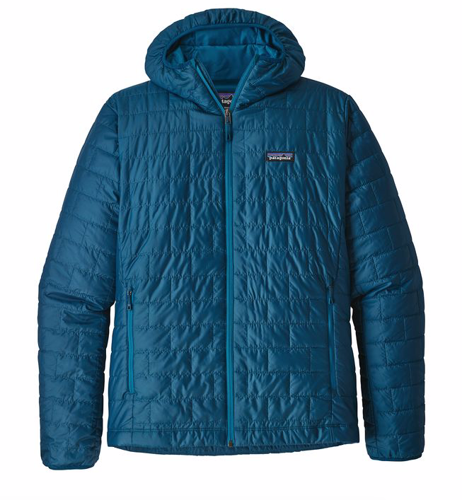 Patagonia Men's Nano Puff® Hoody - Big Sur Blue