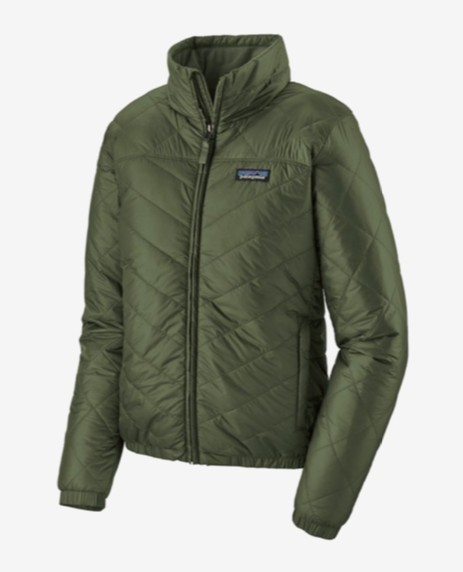 Patagonia Women's Lightweight Radalie Bomber Jacket - Kale Green
