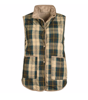 Barbour Mayapple Vest - Ancient/Tan
