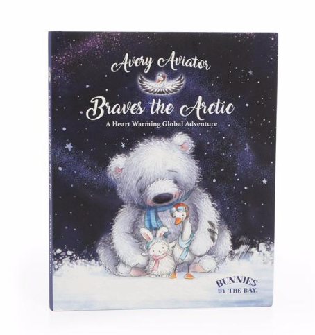 Bunnies By The Bay Storybook - Avery the Aviator Braves the Arctic