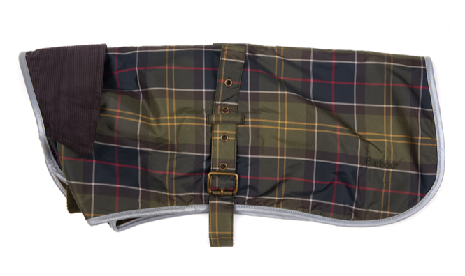 Barbour W/Proof Tartan Dog Coat - Classic Tartan