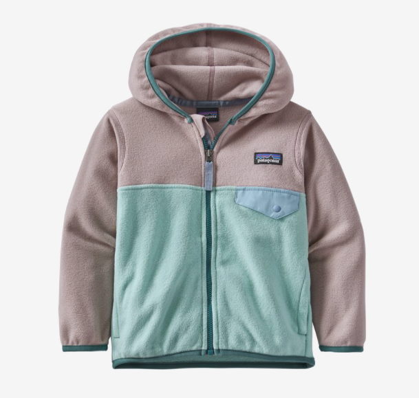 Patagonia Baby Micro D® Snap-T® Fleece Jacket - Gypsum Green