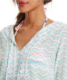 Vineyard Vines Whale Tail Chevron Cover-Up