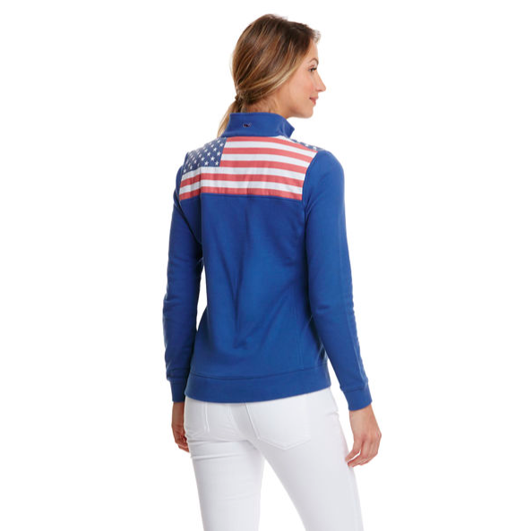 Vineyard Vines Womens Flag Shep Shirt