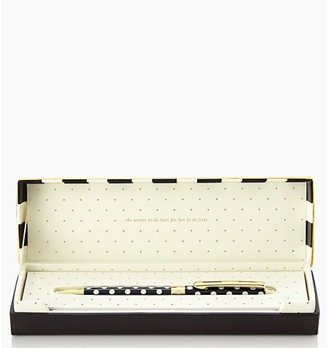 Kate Spade To-Do List Ballpoint Pen