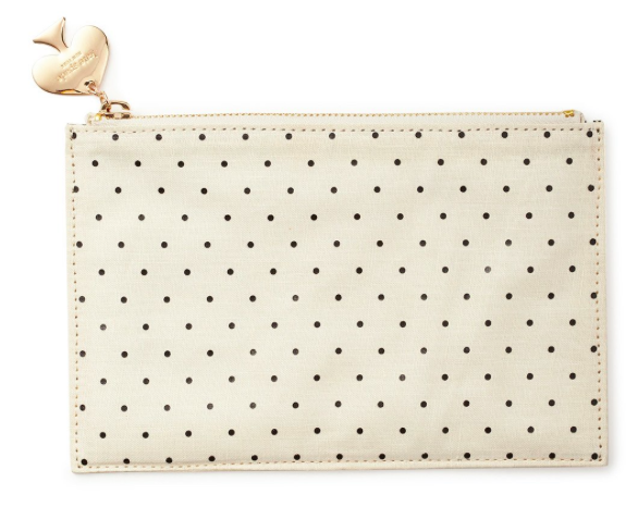 Kate Spade Pencil it in Pencil Pouch - Gold Dot
