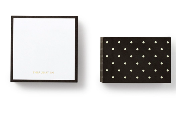 Kate Spade Note Cube- This just In
