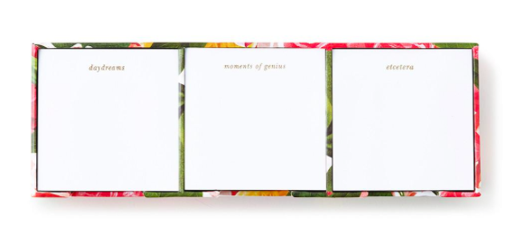 Kate Spade Sticky Note Set - Floral