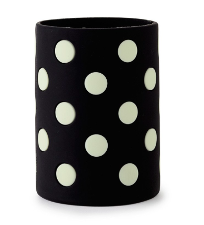 Kate Spade Let's Chill Drink Cozy- Black Dots