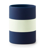 Kate Spade Let's Chill Drink Cozy- Navy Rugby Stripe