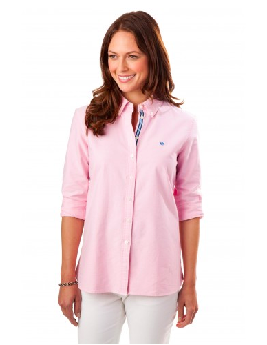 Southern Tide Madison Oxford - Smoothie Pink