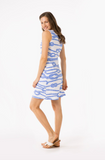 Mahi Gold Seaview Shift Dress - Let's Get Knotty Chatham