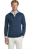 Vineyard Vines Cotton 1/4-Zip - Deep Bay