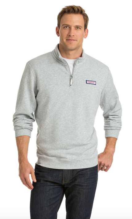 Vineyard Vines Collegiate Shep Shirt - Gray Heather