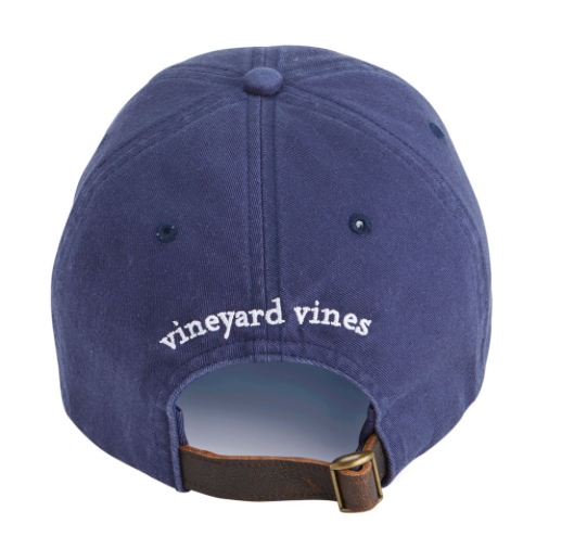 7a7ebcd8a40a2 Vineyard Vines Whale Flag Baseball Hat - Vineyard Navy