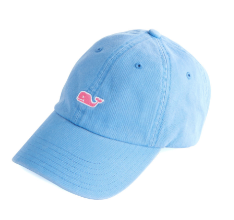 Vineyard Vines Women s Classic Washed Baseball Hat - Cornflower ... d40d3a8d4358