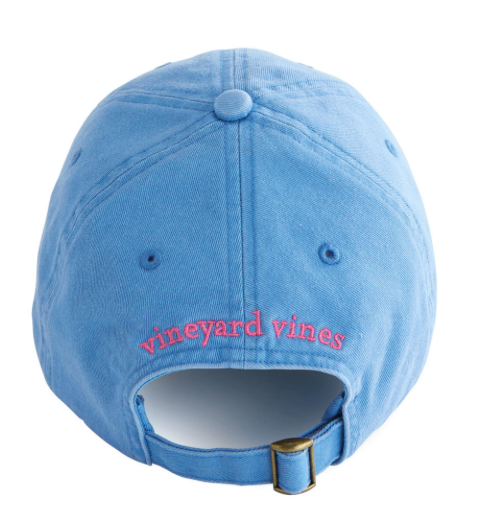1c2ea6c1f Vineyard Vines Women's Classic Washed Baseball Hat - Cornflower
