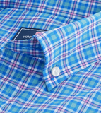 Vineyard Vines Union Pier Plaid Performance Classic Tucker Shirt - Allium