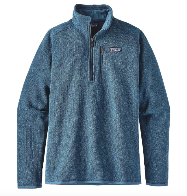 Patagonia Men's Better Sweater® 1/4-Zip Fleece - Big Sur Blue