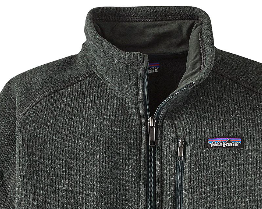 Patagonia Mens Better Sweater 14 Zip Fleece Carbon Krizia Martin