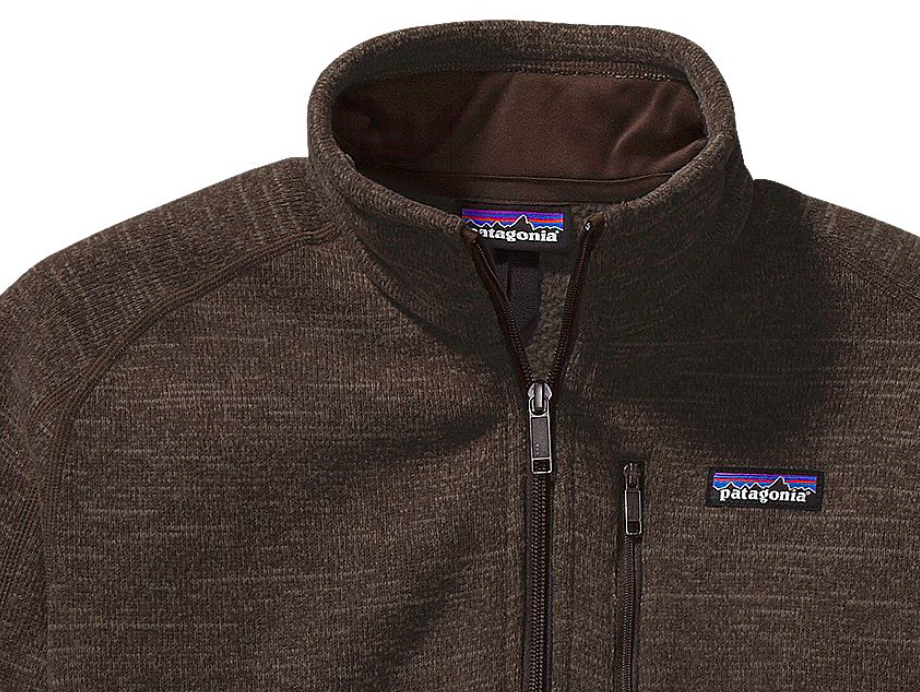 Patagonia Mens Better Sweater 14 Zip Fleece Dark Walnut