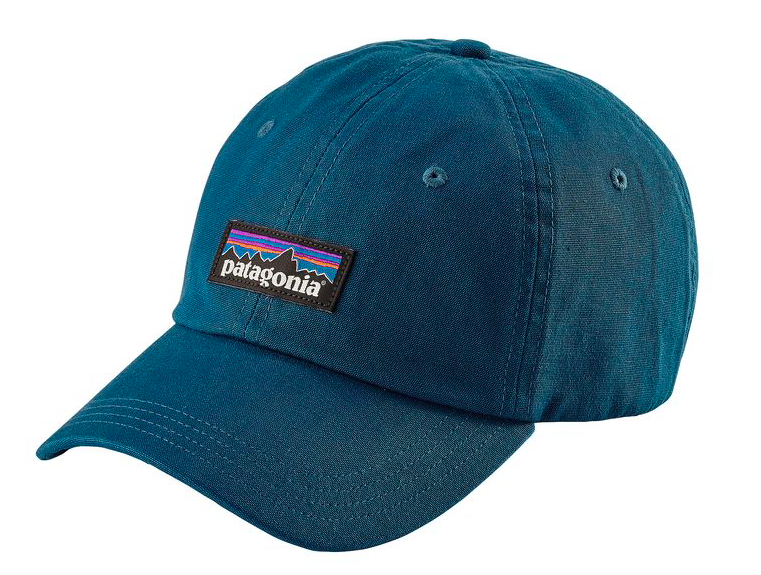 Patagonia P-6 Label Trad Cap - Big Sur Blue