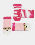 Joules Terry Two Pack Towelling Socks - Dog