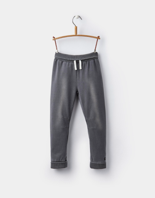 Joules Hugo Jersey Denim Joggers - Grey Denim