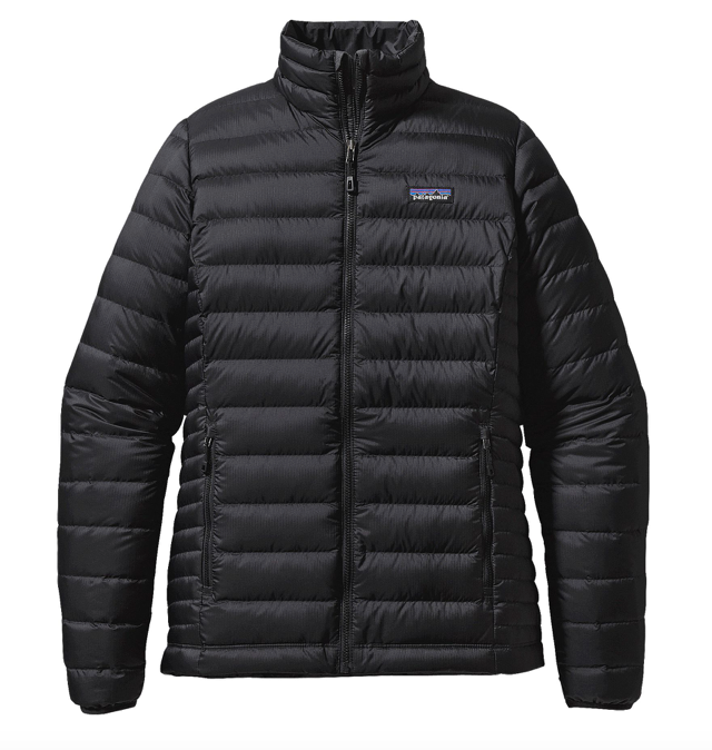 Patagonia Women's Down Sweater Jacket - Black