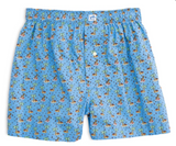 Southern Tide Reindeer Games Boxer - Ocean Channel
