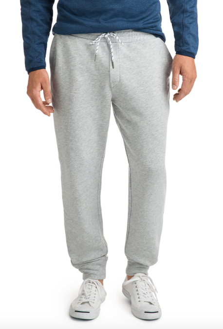 Vineyard Vines Heathered Jogger Pants - Gray Heather